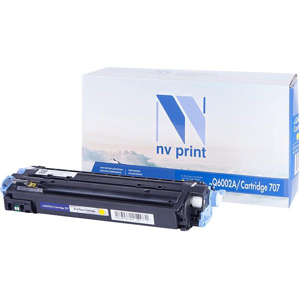 Картридж NV Print Q6002A/707 Yellow