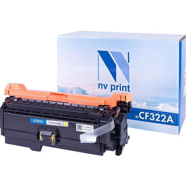 Картридж NV Print CF322A Yellow