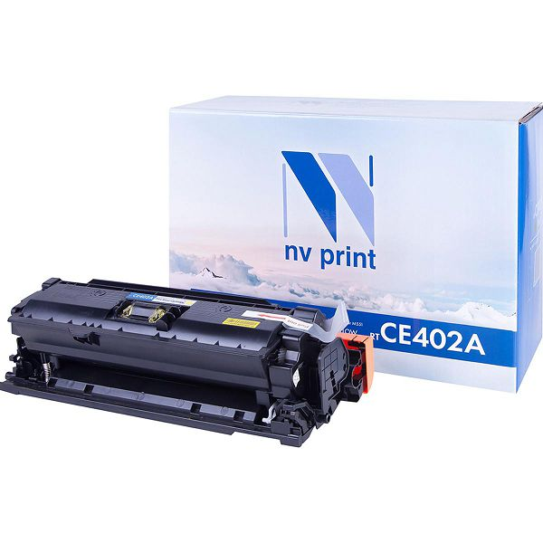 Картридж NV Print CE402A Yellow