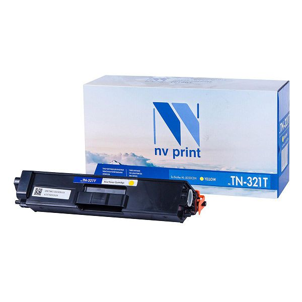 Картридж NV Print TN-321T Yellow