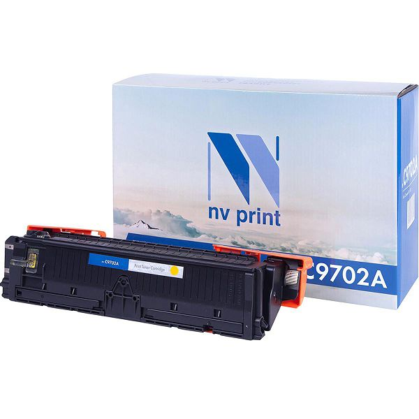 Картридж NV Print C9702A Yellow