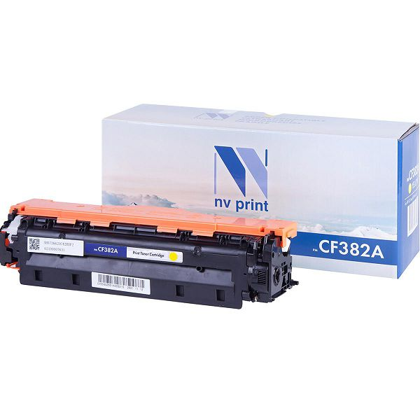 Картридж NV Print CF382A Yellow