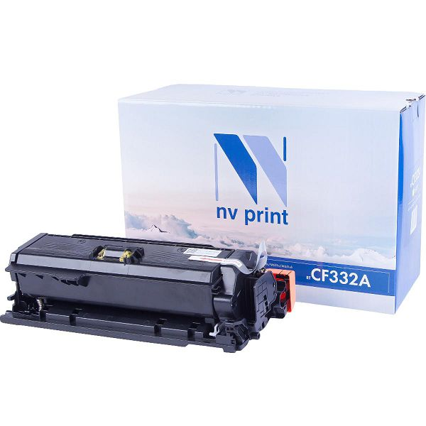 Картридж NV Print CF332A Yellow