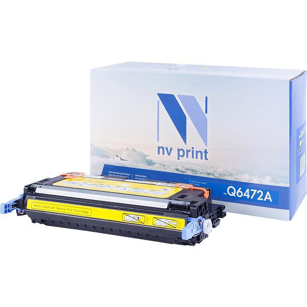 Картридж NV Print Q6472A Yellow