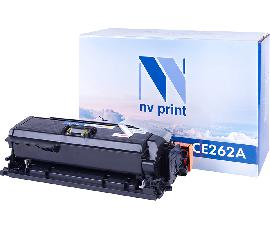 Картридж NV Print CE262A Yellow