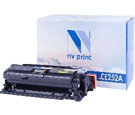 Картридж NV Print CE252A Yellow